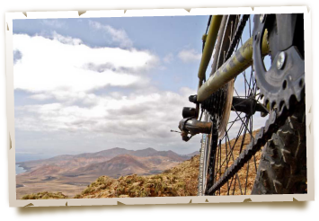 excursions by bike in Lanzarote